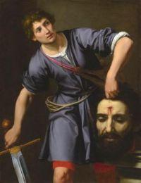 Ottavio Vannini (Italian, 1585–1644), David with the Head of Goliath