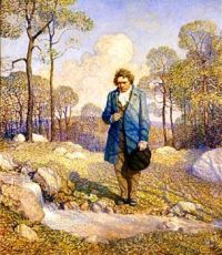 Beethoven and Nature, 1917, N. C. Wyeth (1882-1945)