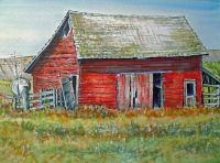 Red Barn by Lynne Haines