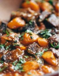 Pinch of yum beef stew instant pot