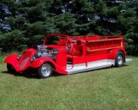 1935 Ford Hot Rod Fire Truck