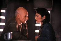 Picard and Ensign Ro undercover