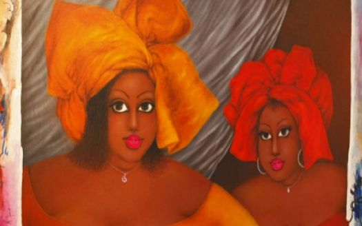 Augustine Kassi is a super talented Ivorian painter