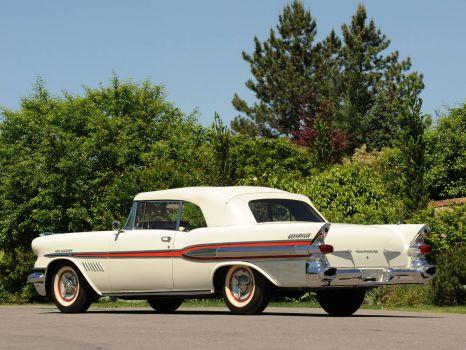 1957 Pontiac Star Chief Custom Bonneville Convertible