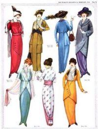 The Women's Magazine 1914 Fashion Plate