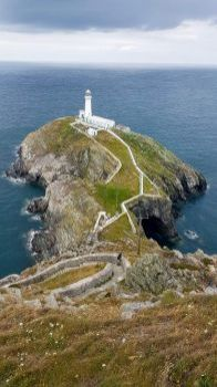 South Stack Lighthouse Holy Island Anglesey UK
