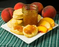 Buttermilk Biscuits and Peach Jam