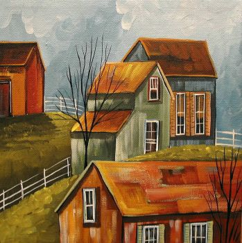 Country Color 3 by Debbie Criswell