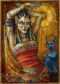 EGYPTIAN GODDESS POSTER