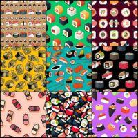 Sushi patterns 2