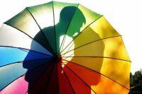 Rainbow Umbrella Romance
