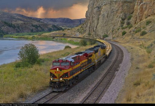 181-Montana, Lombard-Kansas City Southern Railroad