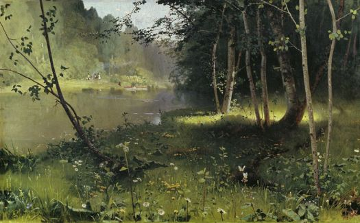 Forest River by Nikolay Nikanorovich Dubovskoy