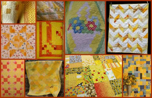Yellow Quilts - larger