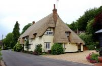 Newly Thatched Cottage. Old Malt House. Werwill. Hampshire.