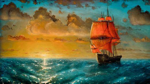 Lone Ship