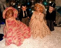My Christmas dolls of 1947