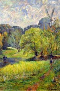 Paul Gauguin - The Queen's Mill Ostervold - 1885