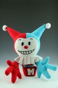 Harvey Comics' mascot Joker doll