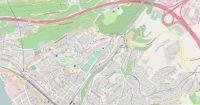 Map of Corsier-Sur-Vevey, Switzerland