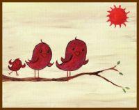 Birds In The Sun