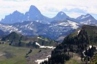 Grand Tetons, western view