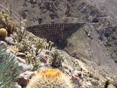 Carrizo Gorge Goat Canyon Railroad Trestle