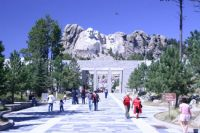 Mt. Rushmore, to my great 'relief'...