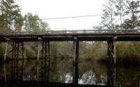 Last Wood Supported Bridge in Florida, I think