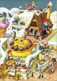 Tony Wolf Illustration Woodland Folk Make Dessert