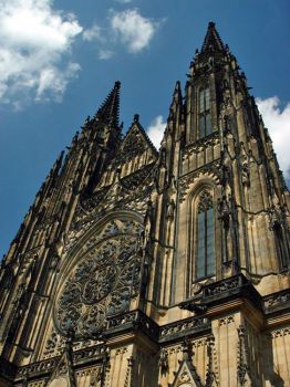 Cathedral in Prague 2002