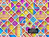 3d geometric pattern g1_1v-1 (simple)