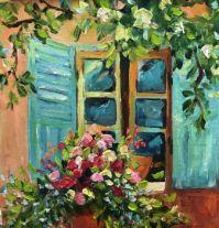 Window Of Darkeness by Artist Jenny Be