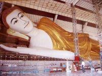 MYANMAR (Burma) - Bago (Pegu) - Shwethalyaung Buddha statue