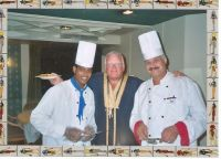 Me and the chefs. Nile cruise '05!!