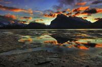 Vermillion Lakes in November by Mitchell Fowler