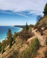 Lakefront Hiking Trail, Michigan USA