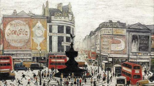 Ls Lowry's 125h birthday today