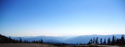 View From Mt Shasta, California