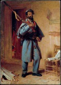 A Bit of War History, The Recruit, Thomas Waterman Wood, 1866