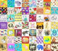 .PATCHWORK ELEPHANTS 6