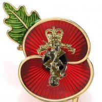 REME Poppy Brooch