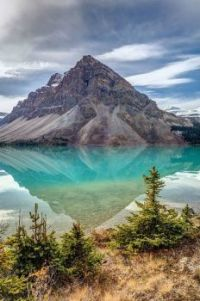 Bow Lake, Banff National Park, Alberta