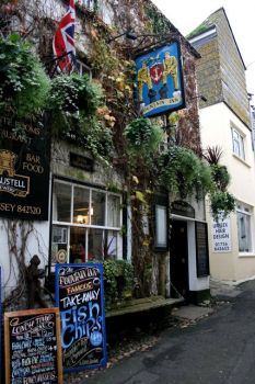 The Fountain Inn, Mevagissey, Cornwall.  Photo by Derek Bennett