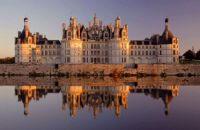 Château de Chambord au coucher de soleil