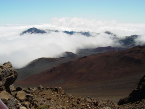 Haleakala (House of the Sun) Elevation 10,023' - Maui, Hawaii