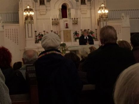 Memorial Mass for my brother Walter (1934 - 2012) in Vienna / Austria