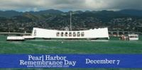 Today Is National Pearl Harbor Remembrance Day!!