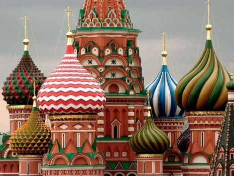 St. Basil's Cathedral - Russia