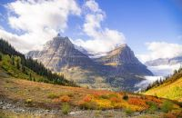 GLACIER PARK IN THE FALL